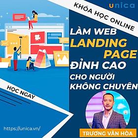 Khóa học MARKETING - Hướng dẫn làm web Landing Page bán hàng đỉnh cao dành cho người không chuyên