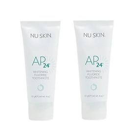 Combo 02 Kem Đánh Răng Nuskin Ap24 Whitening Fluoride Toothpaste