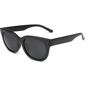 Combo kính V đen + kính giả cận thời trang