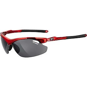 Kính mát thể thao Unisex Tifosi Tyrant 2.0 - Gọng Metallic Red, Bộ 3 tròng Smoke / AC Red / Clear
