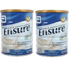 02 Hộp Sữa Bột Ensure Úc Vị Vani  850g