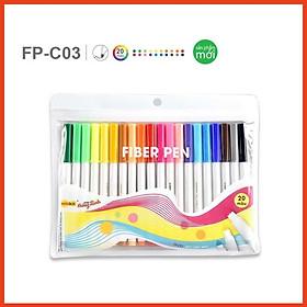 Bút lông màu Fiber Pen FP-C03 vỉ 20 màu