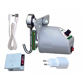Máy đưa võng Sbaby dùng được bằng điện pin