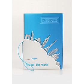 Bao da hộ chiếu passport cover Thành Nam (14 x 10cm)
