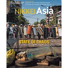 Nikkei Asian Review: Nikkei Asia - 2021: STATE OF CHAOS - 16.21 tạp chí kinh tế nước ngoài, nhập khẩu từ Singapore