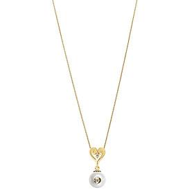 Dây Chuyền Galatea Jewelry Diamond In A Pearl 4621.04YW - Trắng