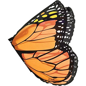 Shawl Butterfly Cloak Soft Gradient Color Butterfly Wings Design Shoulder Straps Holiday Kids Decor Costume Accessories