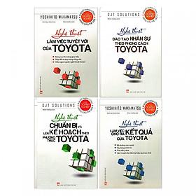 Combo Nghệ Thuật Của Toyota (4 Cuốn)