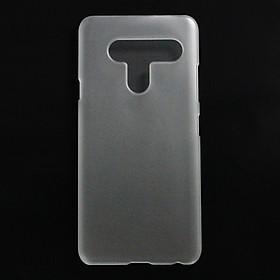 Ốp lưng nhựa cứng cho LG V40 trong nhám