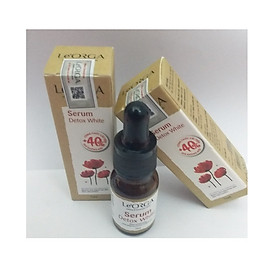 [COMBO 2 HỘP] Tinh chất dưỡng trắng da SERUM DETOX WHITE 7ml đặc biệt giúp thải  da. Khắc phục sẹo thâm, rỗ sau mụn, làm sáng da, đều màu da.