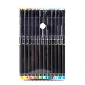 Bộ Bút Lông Kim 12 màu