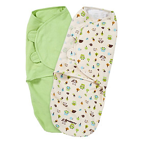 Set 2 Chăn Quấn Woodland/Sage Summer Infant SM55210 (Size L)