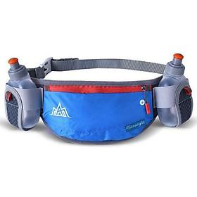 Túi đai đeo bụng hông chạy bộ kèm 2 bình nước