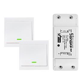 Công Tắc Điện Thông Minh Wifi Tắt Bật 3 Gang 86 Loại SONOFF (433MHz) (10A/2200W)