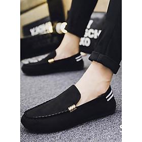Giày Lười Nam Cao Cấp Phong Cách Hàn Quốc Phong Cách  - Màu Đen SV05-S39