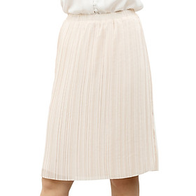 Chân Váy Midi Pleated Skirt The Cosmo - Orange