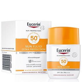 Kem Chống Nắng Eucerin Sun Fluid Mattifying SPF 50+ (50 ml), Cho Da Thường, Da Hỗn Hợp