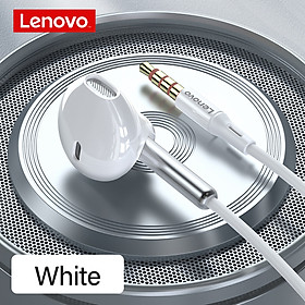 Tai nghe có dây 3.5mm Lenovo XF06 Tai nghe bán trong tai Giảm tiếng ồn với Điều khiển dây micrô HD bằng màng Graphene