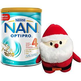 Sữa Bột Nestle NAN Optipro 4 (1.8kg) - Tặng Bộ Gối Mền Ông Già Noel