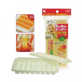 Hộp Chia Đồ Ăn Dặm Cho Bé Có Nắp Đậy Kháng Khuẩn Nhật Bản (8 Ngăn)