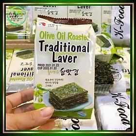 Rong biển ăn liền vị Oliu (lốc 3 gói)