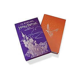 Harry Potter Part 1: Harry Potter And The Philosopher's Stone (Hardback) Gift Edition (Harry Potter và Hòn đá Phù Thủy) (English Book)