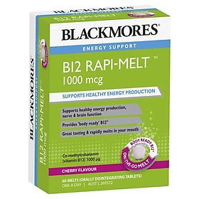 Blackmores B12 Rapi-Melt 1000mcg60 Tablets