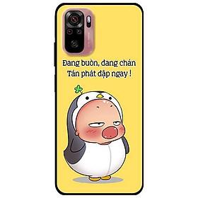 Ốp lưng dành cho Xiaomi Xiaomi Redmi Note 10 - Redmi Note 10 Pro - mẫu Quỳnh Buồn