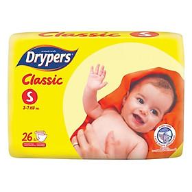 Tã Dán Drypers Classic Gói Trung S26 (26 Miếng) + Tặng 1 Gói Cùng Loại-1