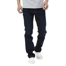 Quần Jeans Nam Cotton Slimfit Vĩnh Tiến JEAN 13 - Xanh Đen