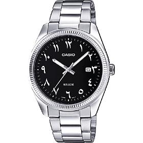 Đồng hồ nam dây thép không gỉ Casio MTP-1302D-1B3VDF