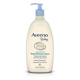 Sữa dưỡng ẩm Aveeno Baby Daily Moisture Lotion Fragrance Free 532ml