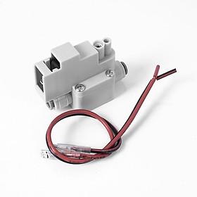 Van áp cao, van áp thấp, van điện từ 24V Korea - linh kiện máy lọc nước R.O gia đình - kèm dây (Hàng chính hãng)