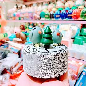 Hộp Nhạc Thạch Cao - Blue Bird