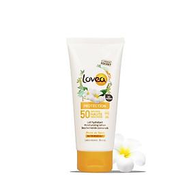Kem chống nắng dưỡng da Lovea Moisturizing sunscreen lotion 90ML