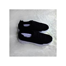 Giày Thể Thao Nữ Đai Chun Đế 5cm