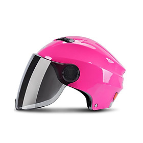 Motorcycle Helmet 3/4 Open Face Moto Helmets Scooter Unisex Biker Motocross Motorbike Casque Racing Streamline Version