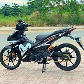 Tem rời mẫu Movistar dành cho xe Exciter 150 đen (bộ)