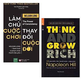 Combo Sách Kỹ Năng Thay Đổi Cuộc Đời Bạn: Làm Chủ Cuộc Chơi, Thay Đổi Cuộc Đời + 13 Nguyên Tắc Nghĩ Giàu Làm Giàu - Think And Grow Rich (Tái Bản) / thay đổi suy nghĩ, thay đổi cuộc đời