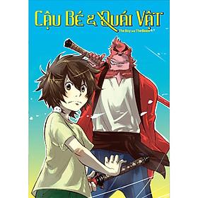 Cậu Bé Và Quái Vật - Bộ Manga Boxset Trọn Bộ 4 Tập