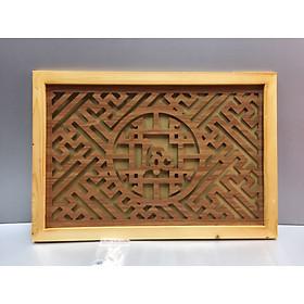 Tấm chống ám khói chữ Lộc ( trang trí lắp trên ban thờ treo tường)  sản phầm này có nhiều kích thước