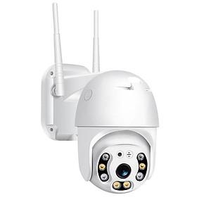 Camera IP Wifi Ngoài trời Yoosee PTZ 2 Râu FullHD 1080P 4 LED trợ sáng, 4 LED hồng ngoại, đàm thoại 2 chiều, hỗ trợ xoay 360 (trắng) Hàng Nhập Khẩu