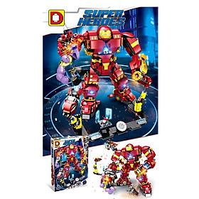 Lắp Ráp Xếp Hình Super Heroes Marvel Mô Hình Bộ giáp Người Sắt Hulbuster Iron Man Chống Lại Thanos Endgame - Đồ Chơi Trẻ Em