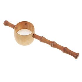 Tea Leaf Mesh Filter Loose Leaf Filter Spoon Bamboo Tea Sets