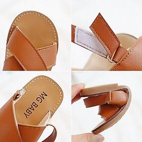 Giày trẻ em quai chéo siêu đẹp cho bé gái mã V532