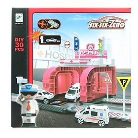 Bộ Đồ Chơi Mô Hình Bệnh Viện Và Xe Boy Toys 660-A83