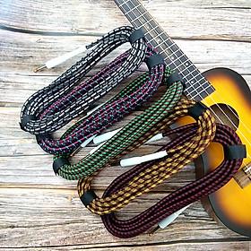 Dây kết nối tín hiệu Guitar HK cable TH01 (2 đầu 6.5mmi cắm ra Ampli dài 5m) -Giao màu ngẫu nhiên