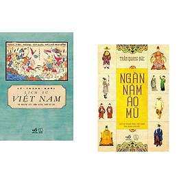 Combo 2 cuốn sách: Lịch sử Việt Nam từ nguồn gốc đến giữa thế kỷ XX  + Ngàn năm áo mũ