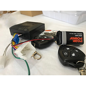Khóa chống trộm xe máy chuyên nghiệp điều khiển từ xa kèm chìa khóa + Tặng kèm 1 Sạc Điện Thoại Gắn Xe Máy Kèm Ổ Đựng Tẩu