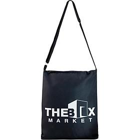 Túi Tote Bags XinhStore Họa Tiết The Box - Đen